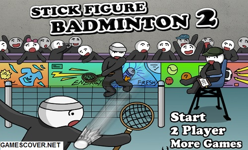 Play Stick Figure Badminton 2 Game