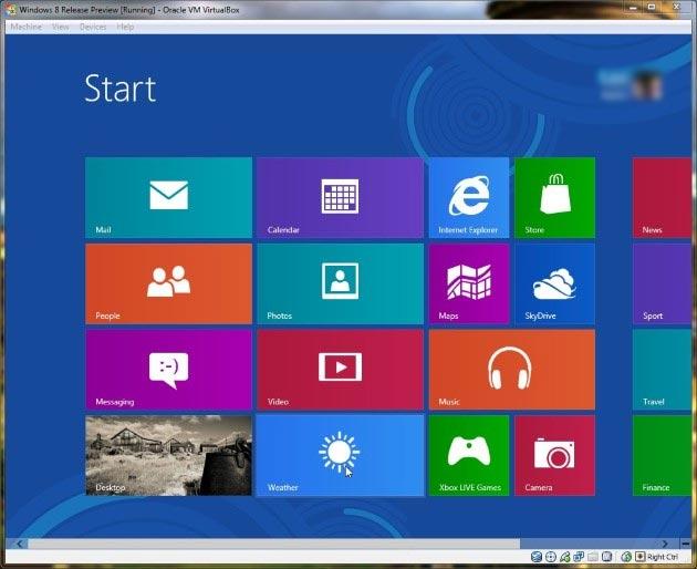 تم تثبيت ويندوز 8 للكمبيوتر واللاب توب