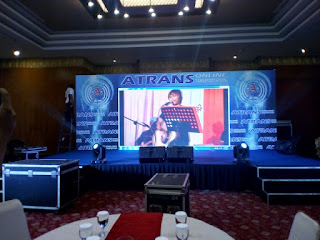Backdrop Frame Screen Di BAlai Kartini