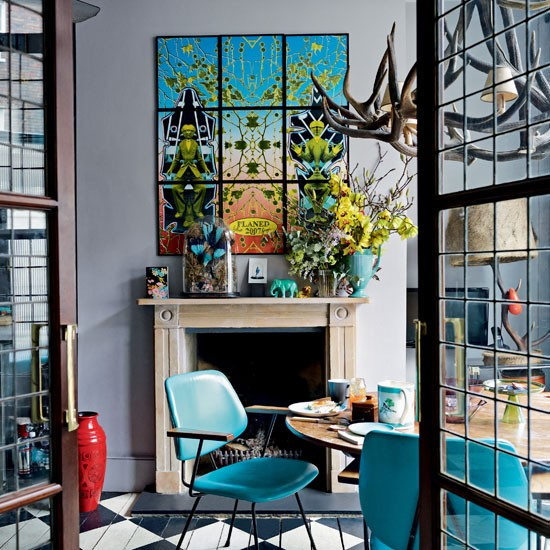 HOME RESTYLER: How To: Style Your Home With Art