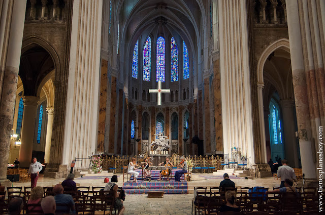 Catedral Chartres viaje turismo que ver Loira roadtrip Francia