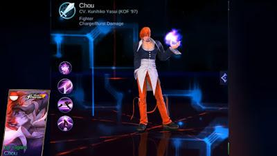 Skin Chou Iori Yagami (King of Fighter) Mobile Legends: Bang Bang