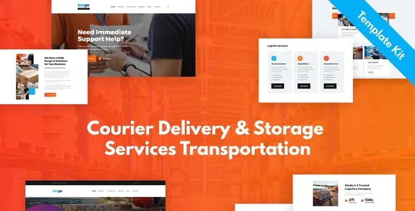 Download Delivery & Storage Template Kit