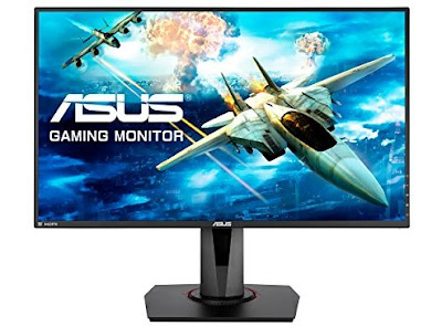 27-Inch Asus Monitor - Full HD LED-Lit Gaming PC TV