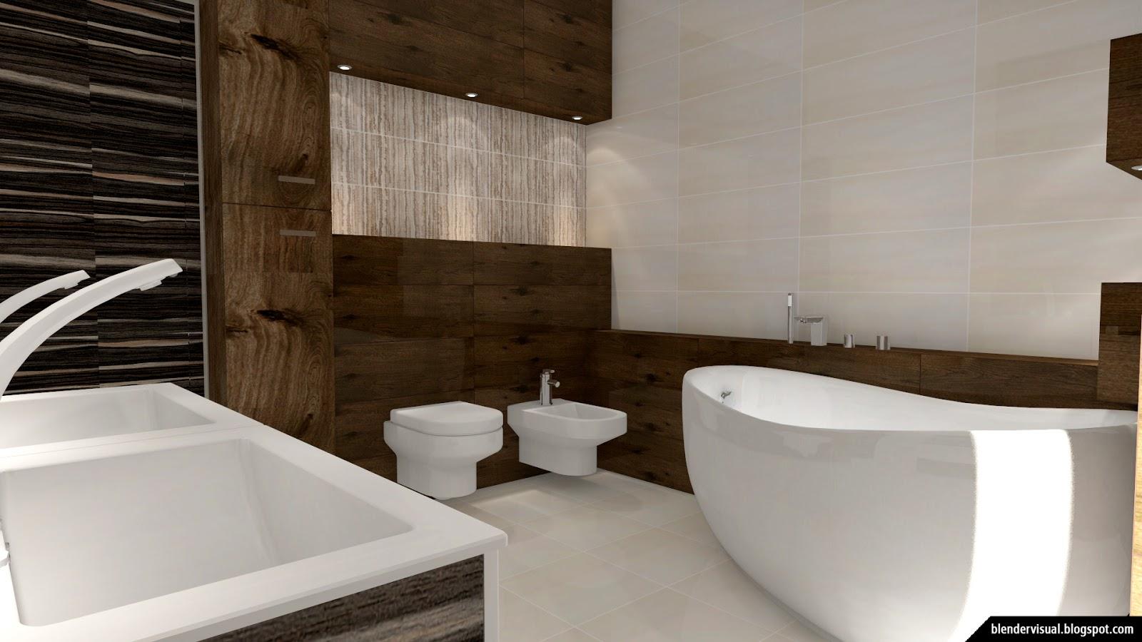Functional Bathroom visual blender: daily render #002: the best functional bathroom