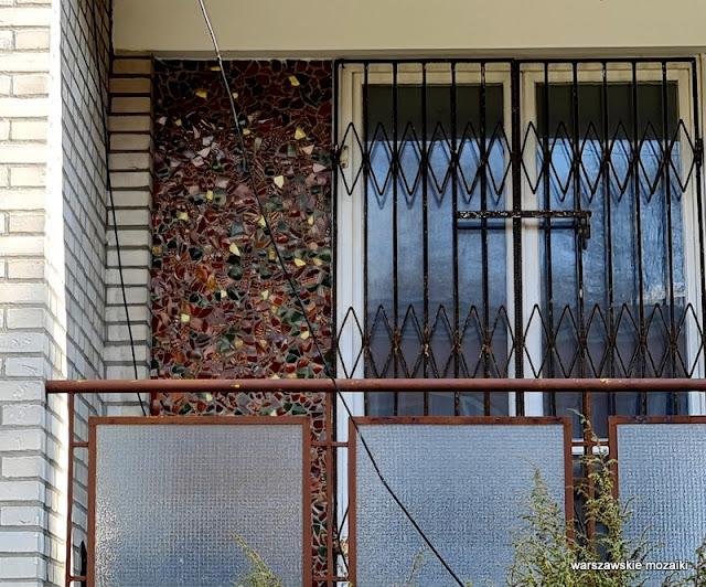 mozaika mosaic Warszawa Warsaw architektura achitecture Marymont Bielany