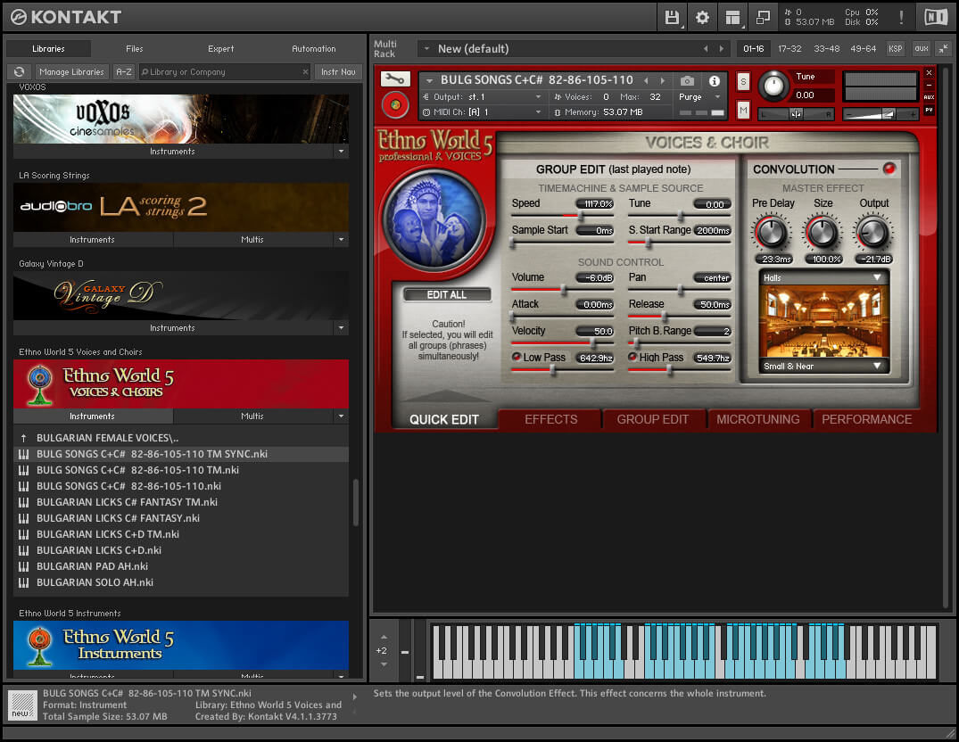 Best Service - Ethno World 5 Professional and Voices KONTAKT Library