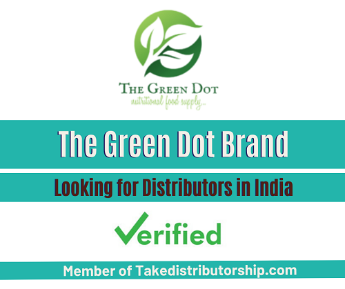 The Green Dot Brand ( Looking for New Distributors in India )