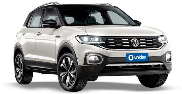 Volkswagen T-Cross Locação Unidas