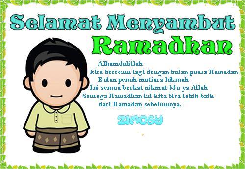 Gambar Pantun Ramadhan Lucu