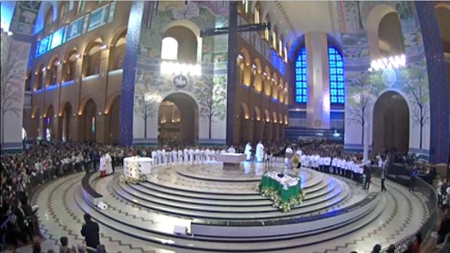 basilica de nossa senhora aparecida ao vivo