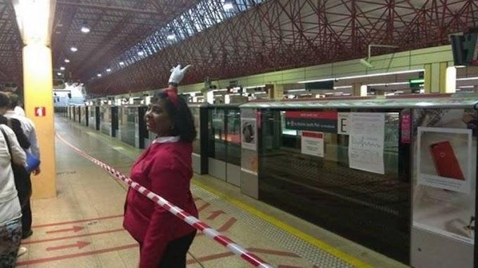 Kecoh 'Hantu' Tutup Pintu Platform MRT Singapura