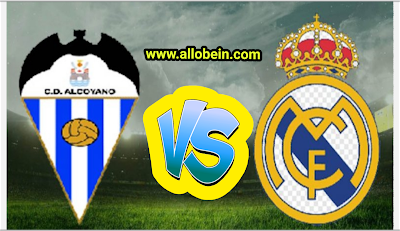 Real Madrid and Deportivo Alcoiano match