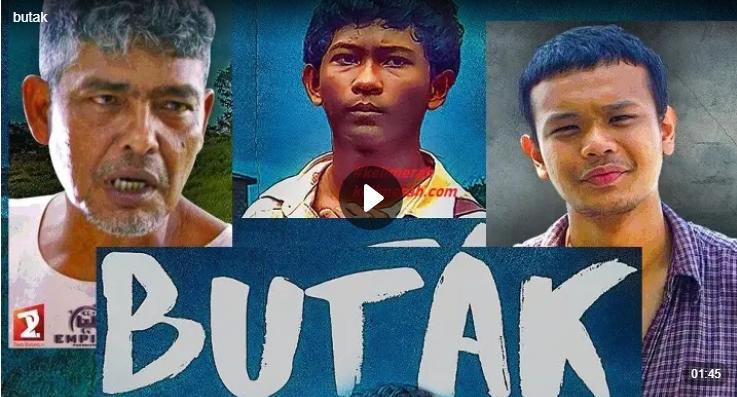 Movie Butak Lakonan Sabri Yunus,Sabri Yunus