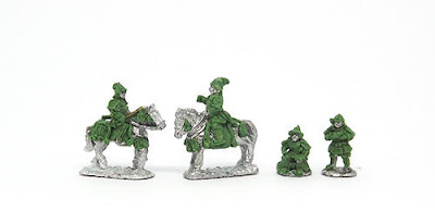 Generals - Mounted x 2 / seated / standing