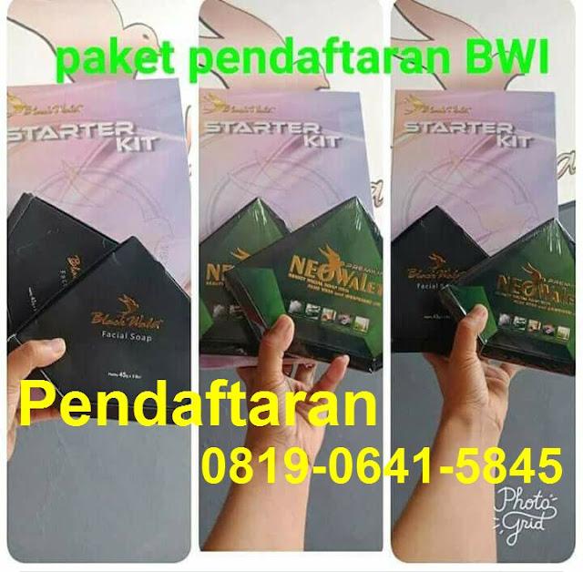 Pendaftaran Member Baru Sabun Blackwalet Kota Tangerang Selatan