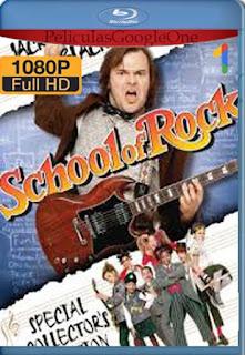 Escuela de Rock (2003) [1080p BRrip] [Latino-Inglés] [LaPipiotaHD]