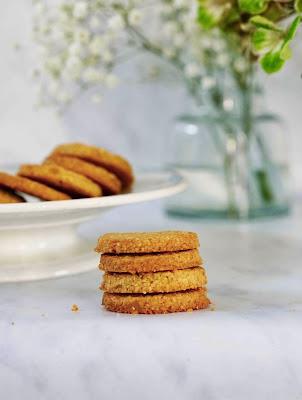 cookies , noix de coco , gingembre confit , sucre de canne