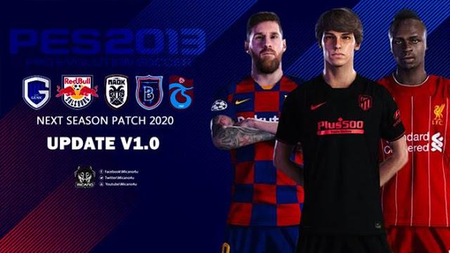 PES 2013 Next Season Patch 2019/2020 + UPDATE