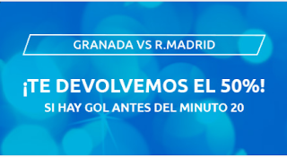 mondobets promo Granada vs Real Madrid 13-7-2020