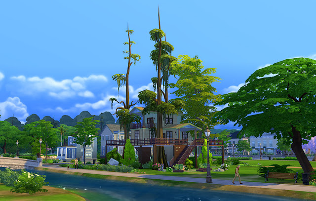 Sims 4 Treehouse