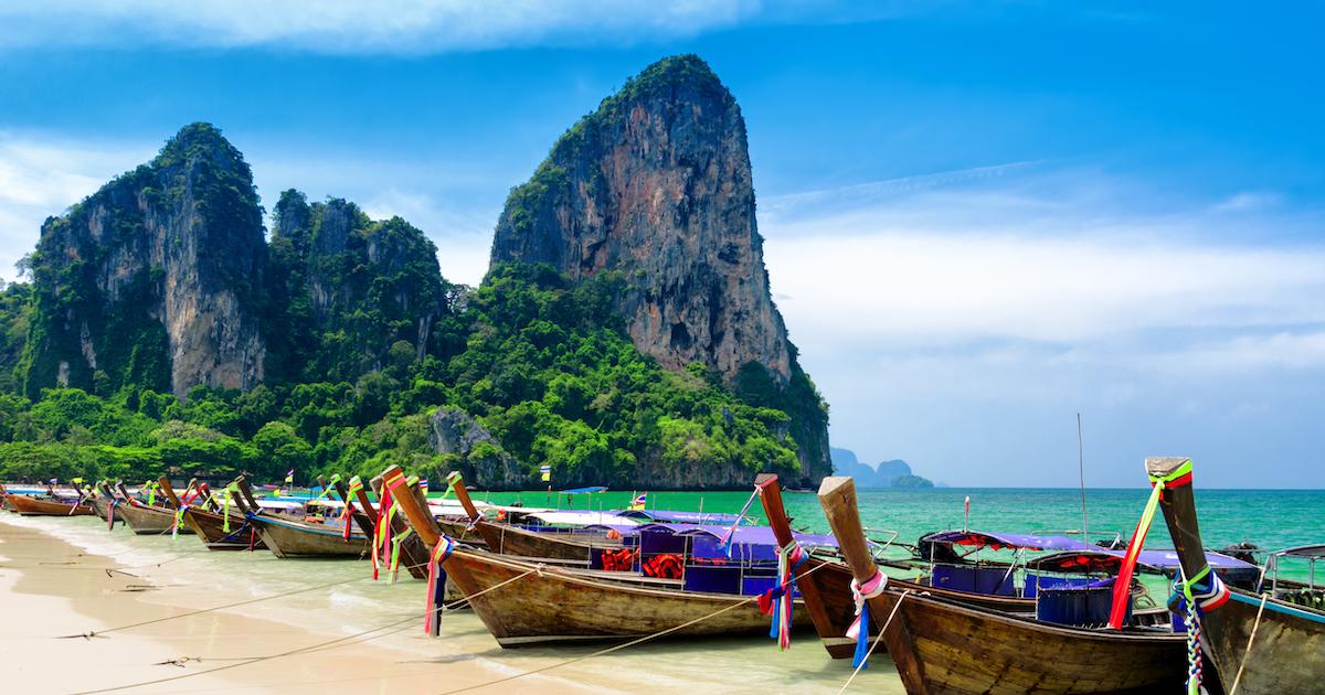 spiaggia tailandia viaggi