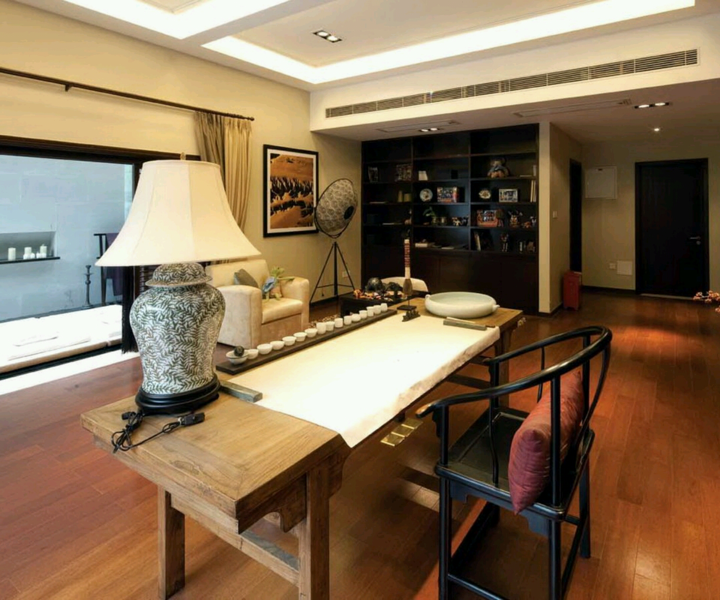 New Home Designs Latest Homes Interior Designs Studyrooms: Rumah Rumah Minimalis: Modern Homes Interior Designs