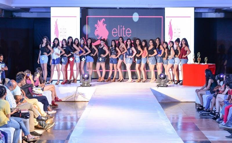 At Audition in Jodhpur - Elite Miss Rajasthan 2018.