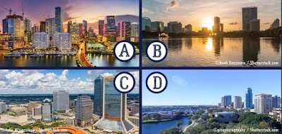 Q 9. All these cities are in Florida.