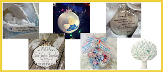 Military Mama Musings - Miscarriage Remembrance Ornaments