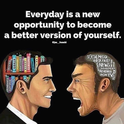 Become a better version of your self