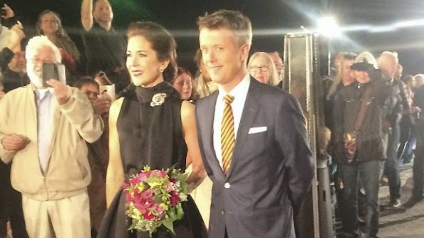 The beautiful Crown Princess Mary and Frederik when awarding the Social Prize