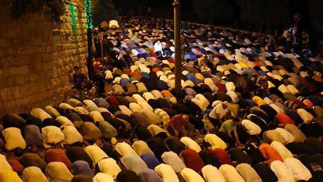 Muslim elders call for prayers at al-Aqsa by Palestinian worshipers as Israel backs down