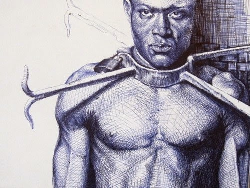 19-Life-Portrayed-by-a-Ballpoint-Pen-Enam Bosokah-www-designstack-co