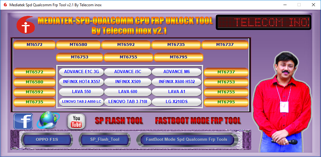 Mediatek SPD Qualcomm CPU FRP Unlock Tool Free Download {Working 100