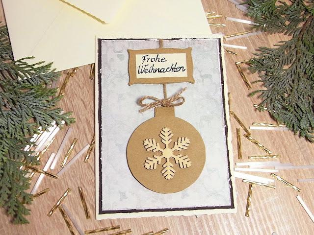 perlenkuchen diy weihnachtskarte selber machen. Black Bedroom Furniture Sets. Home Design Ideas