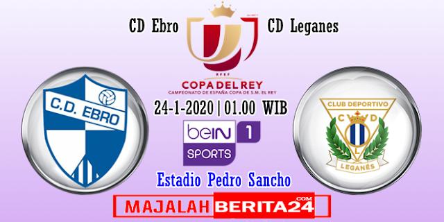 Prediksi Ebro vs Leganes — 24 Januari 2020