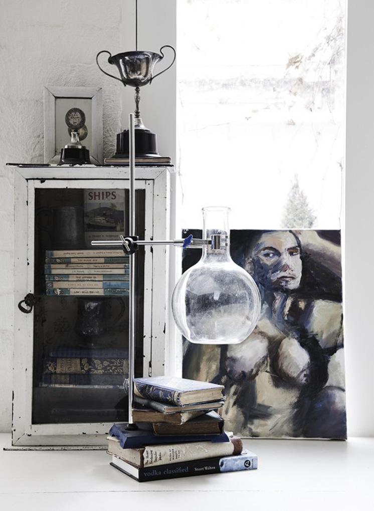 En The White Room en Melbourne se mezcla el blanco con el vintage y el resultado es magnifico