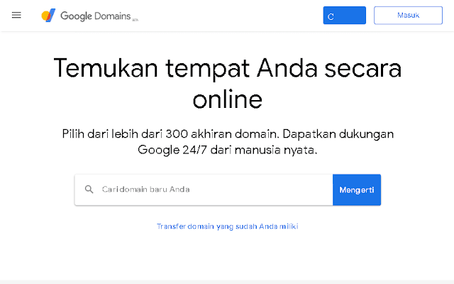 google domain adalah