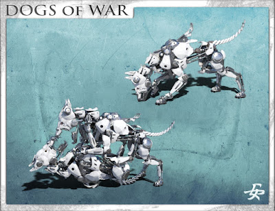 Dogs of War Poses