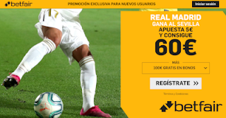 betfair supercuota Real Madrid v Sevilla 18-1-2020