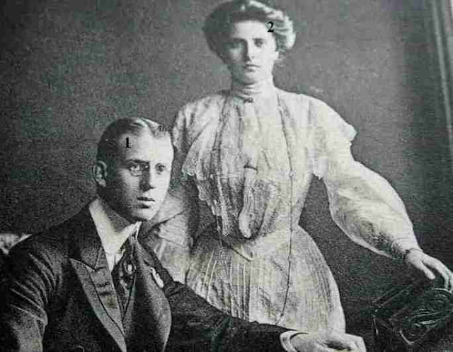 Prince and Princess Andrew of Greece and Denmark
