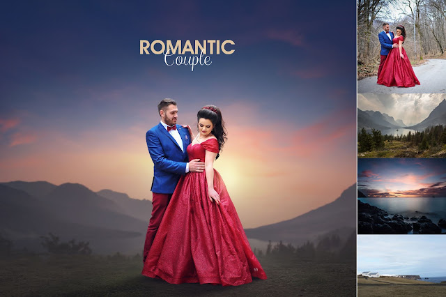How to edit pre wedding photography - Romantic Couple