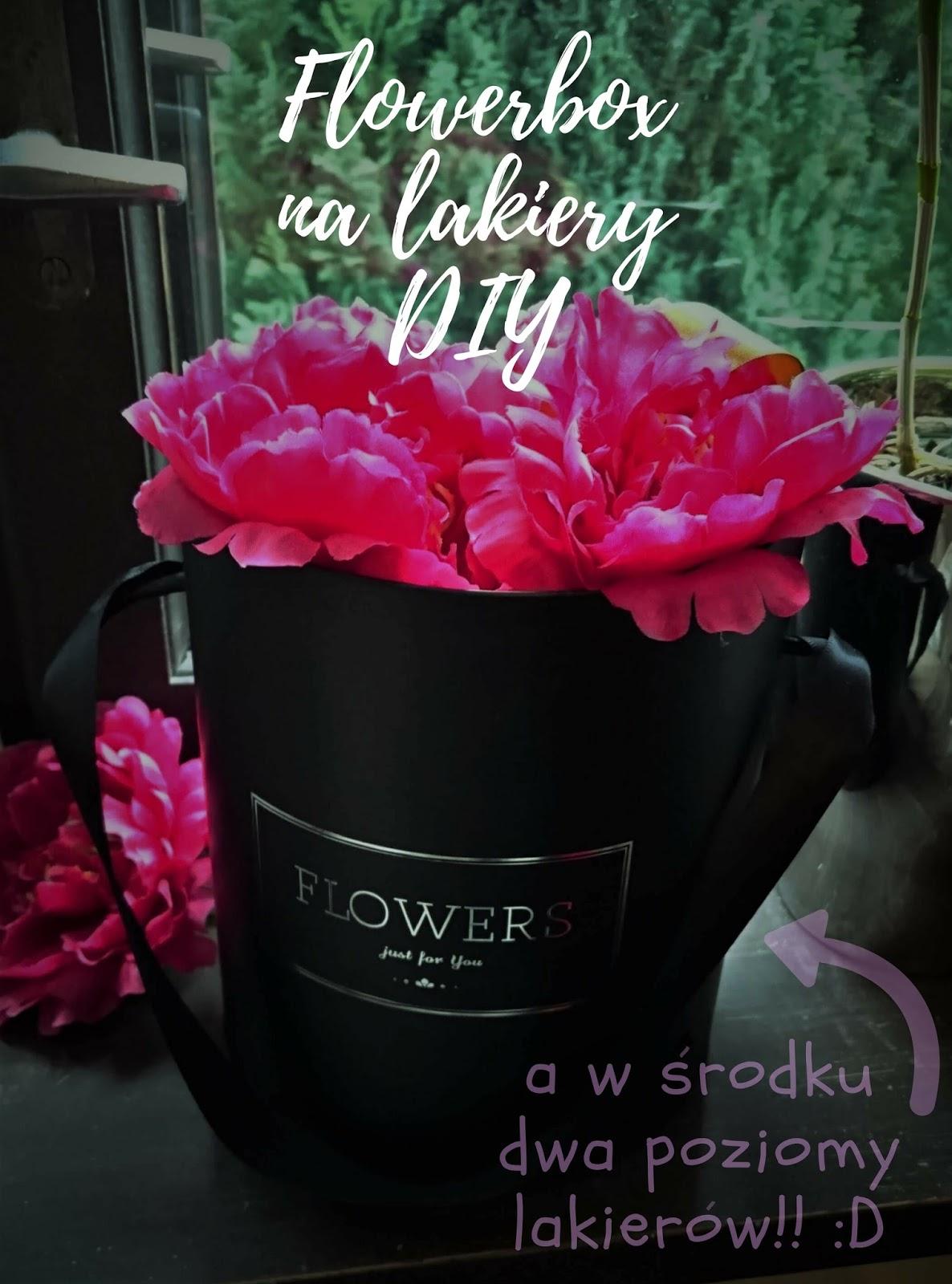 Flowerbox na... lakiery! :D