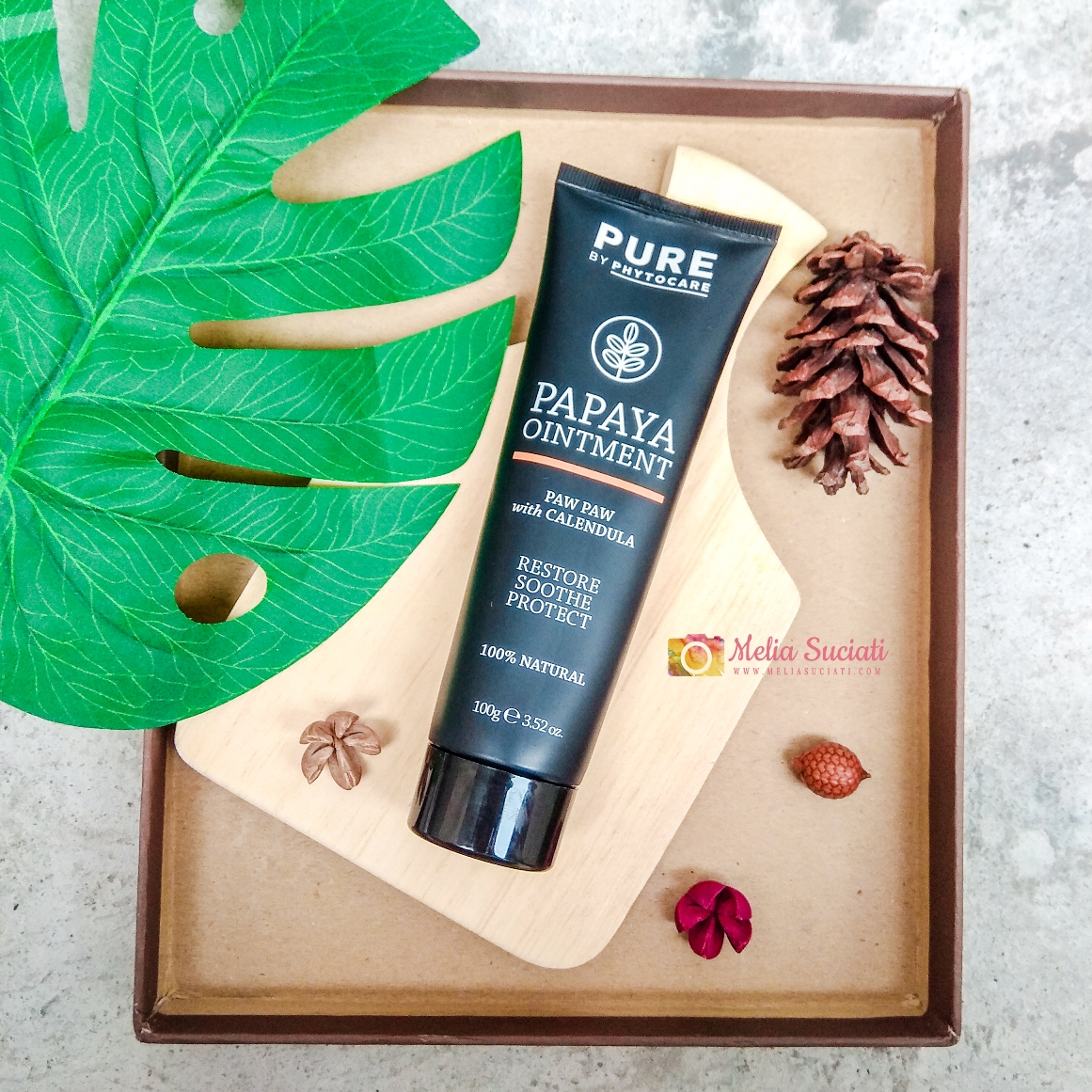 [REVIEW] PURE PAPAYA OINTMENT WITH CALENDULA