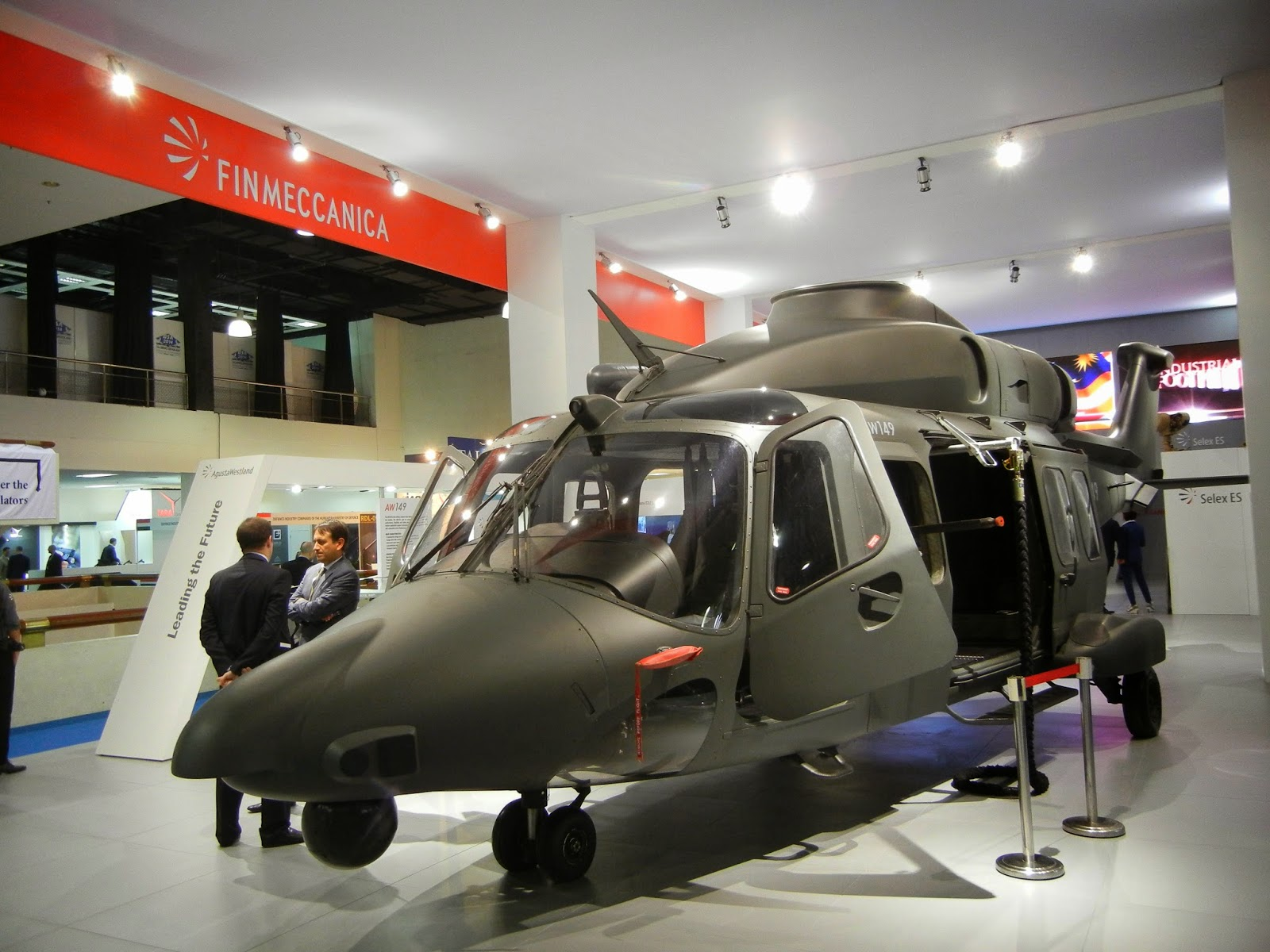 MILITARY TECHNOLOGY: DSA 2014: Seen And Heard On Day Two