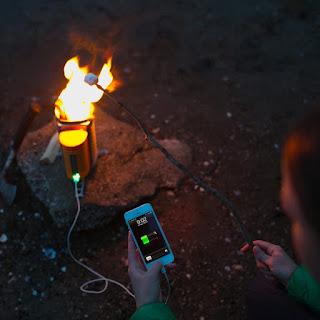Kompor Canggih Biolite Campstove Bisa Untuk Cas HP