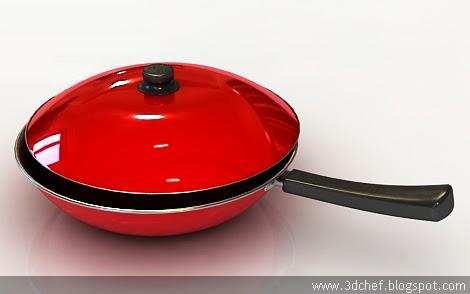 free 3d model pan
