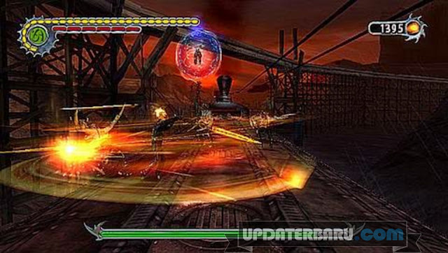 Game Ghost Rider ISO CSO Highly Compress PPSSPP Terbaru