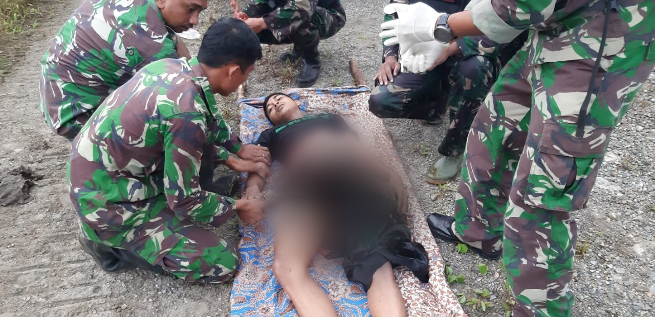 A gun battle occurred in Nduga Papua, three TNI soldiers were injured